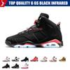 Top Quality 6 6s Black Infrared 3M Reflect Carmine UNC Basketball Shoes Mens Toro Hare Oreo Maroon Tinker Low Chrome Sneakers With Box