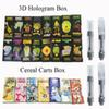 Dank Vapes 3D Hologram Box Vape Cartridge Packaging Cereal Carts 1ml Ceramic Coil E Cig Vaporizer Empty Vape Pen Cartridges For 510 Battery