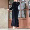 فستان أسود L.