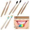 Environment-friendly Wood Bamboo Toothbrush Soft Bamboo fiber Wooden Handle Low-carbon Eco-friendly For Adults Oral Hygiene for Hotel Travel