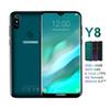 "Doogee Y8 Android 9.0 Cell Phone 4g Lte 3gb 16gb 6.1"" Fhd 19:9 Screen 3400mah Mtk6739 Face Unlock Fingerprint Id Smartphone"