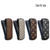 Wholesale IQOS Electronic Cigarette Leather Case, Cover, Protective Holder Cigar Case for IQOS3.0 Electronic Cigarette PU Leather Case