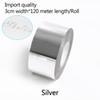 prata-3 centímetros de largura * 120 metros