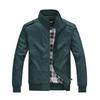 M-4XL Mens Casual Jackets 4 Colors Gentle Business Jacket Zipper Stand Collar Outdoor Sports Summer Casual Stand Collar Solid Jackets