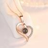 Сердце из розового золота 1
