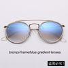3F bronze / gradiente azul