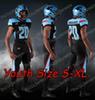 Siyah Gençlik Boyut S-XL
