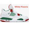 بيتزا بيضاء