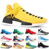 2019 NMD Human Race Pharrell Williams Hu trail NERD Men Women Running Shoes XR1 Black Nerd Designer Sneakers Sports Shoes With Box