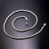 Cor prata-20 polegadas * 2mm