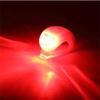 Cuerpo rojo de la luz roja