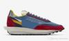2019 Release Originals LD Waffle x Sacai Blue Multi Men Basketball Shoes Authentic Sports Sneakers With Box BV0073-400