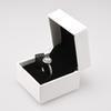 anillo con la caja