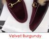 Velvet Borgoña