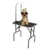 "Father day gift 32""Foldable Pet Dog Cat Grooming Table with Adjustable Arm Noose USA From Ship 3-5Day"