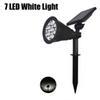 7 LED الضوء الأبيض