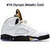 Oro metálico olímpico