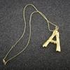 Woman Gold Letter Pendant Necklace Designer Jewelry Luxury Design Womens 14k Gold Necklace Charms Bohemian Fine Jewelry