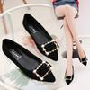 Designer Dress Shoes 2019 Women's Work Pumps New Fashion Spring Summer Sexy Pointed Toe Low Heel Loafers Fashion Party Walking Home Outdoor