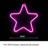 النجوم 30CM الوردي