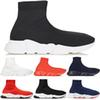 Socks Designer Shoes Luxury Speed Trainers Race Runners Black Red Triple Black White Flat Men and Women Fashion Sport Boots Sneakers 36-45
