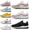 6534bb13ffe 2019 New 97 97s Pink Running Shoes Bright Citron Triple Black White South  Beach Top Men Women Designer Shoes Sport Sneakers 36-45