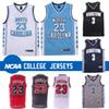 North Carolina Tar Heels 23 Michael Jersey Allen 3 Iverson Georgetown Hoyas Ncaa Basketball Jerseys Low Price Free Shipping