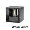 7W Sıcak Beyaz (Siyah Abajur)