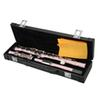 High Quality Cupronickel C Keys 16 Closed Holes Concert Band Flute with Carrying Case Kit Pink