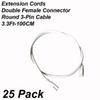 Accessories:3.3Ft Extension Cords