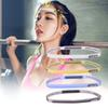 Clear Stock 1pc Outdoor Sports Silicone Guiding Belt Sweat Head Band Headwear Yoga Sweatband