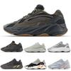 2019 Wave Runner 700 Mens Running Shoes Geode Inertia V2 Static Solid Grey Mauve Salt Women Kanye West Outdoors Shoe 36-46
