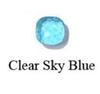 واضح السماء الزرقاء-لون الذهب