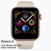 2019 iPhone New Smart watch W54 with wireless chargering Heart Rate Monitor 44mm Case Bluetooth Control SmartWatch Series 4 For IOS Android