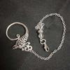alloy phoenix charm chain