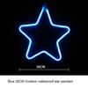 النجوم 30CM الأزرق