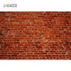 Laeacco Vintage Old Brick Wall Portrait Grunge Photography Backgrounds Customized Photographic Backdrops For Photo Studio