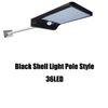 Estilo Light Pole Shell negro