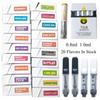 TKO Vape Cartridge Packaging 0.8ml 1ml Ceramic TKO Carts Empty Vape Pen Cartridges E Cigarettes Vaporizer For Thick Oil 510 Thread Battery