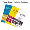 Tempered Glass Retail Package Box 165*90mm For Phone Screen Protector Hang Hole For Mobile Phone 168