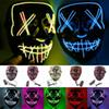 Halloween Mask LED Light Up Party Masks The Purge Election Year Great Funny Masks Festival Cosplay Costume Supplies Glow In Dark MMA228