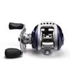 wholesale FISHING Coil Gear Pesca 10BB Baitcasting High Speed Reels 6.3:1 Blue Left or Right Hand Bait Casting Carp Fishing Reel