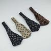 Imitation Silk Headband With Elastic Ladies Printing Cross Head Belt Fashion Designer Headwraps 7 Colors Whoelsale B11