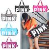 5 Colors Canvas Secret Storage Bag Pink Duffel Bags Unisex Travel Bag Waterproof Victoria Casual Beach Exercise Luggage Bags 10pcs