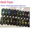 2019 New Black 1 Gram Dank Vapes and Cereal Carts Cartridge New Holographic Side Window Packaging Paper Box Package G5 Cartridge 41 Flavors