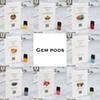 High Qualityl Gem pods Device Pods Cartridges 8 Flavors WATERMELON STRAWBERRY MANGO Pods For Cartridges Gem Pod Great taste