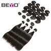 9A Wholesale Peruvian Unprocessed Virgin Brazilian Hair Weave Bundles Body Wave Straight Hair Bundles Human Hair Bundles Remy 3 4 Pcs Beyo