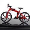 Folding Mountain Bike Red