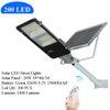 200 LED Solar-Straßen