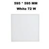 595 * 595 MM Beyaz 72 W